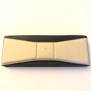 Kate Spade Bow Clutch with Dust Cover